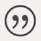Zitat-Icon für Brillenexpertin