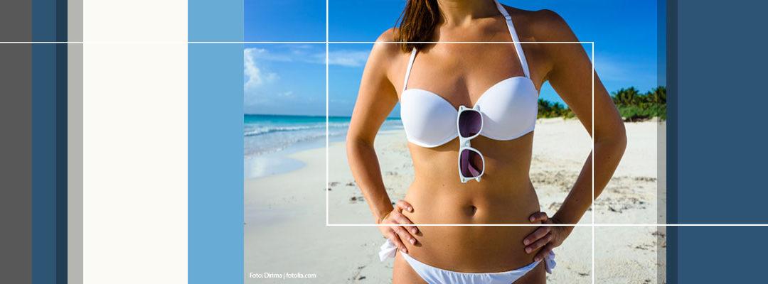 Macht eine tolle Bikinifigur jede Brille schön?
