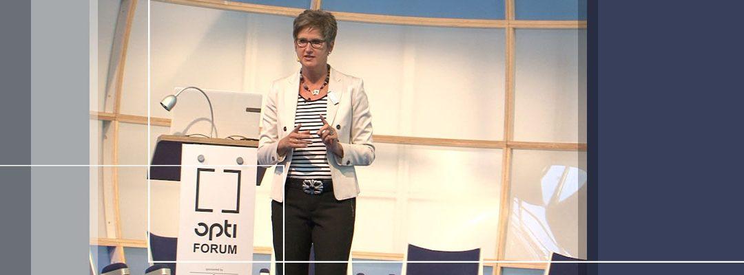 Brillenberatung mit System – Vortrag auf der Internationalen Fachmesse für Optik und Design (opti)